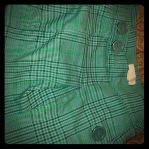 Vintage 90*s pleated shirt skirt HOT!size 5